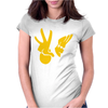 New JOHNNY BRAVO Womens Fitted T-Shirt