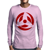 New KAKASHI Mangekyo Sharingan NARUTO Mens Long Sleeve T-Shirt