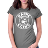 New Kappa Ccino Internet Meme Gamer Inspired Womens Fitted T-Shirt