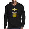 NEW KIDS WOMENS MENS DESPICABLE ME MINION DAVE WHO Mens Hoodie
