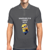 NEW MENS KIDS MINIONS WHATEVER IT IS I DIDNT DO IT NAUGHTY NOVELTY Mens Polo