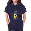 NEW MENS KIDS MINIONS WHATEVER IT IS I DIDNT DO IT NAUGHTY NOVELTY Womens Polo