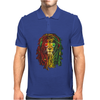 NEW! Men's Rasta Vibe Lion Mens Polo
