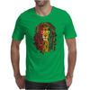 NEW! Men's Rasta Vibe Lion Mens T-Shirt