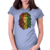 NEW! Men's Rasta Vibe Lion Womens Fitted T-Shirt