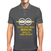 NEW MENS WOMENS KIDS EYE GOT MAD MINION SKILLS AND STUFF FUNNY NOVELTY T SHIRT Mens Polo
