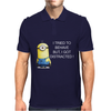 NEW MENS WOMENS KIDS MINIONS I TRIED TO BEHAVE I GOT DISTRACTED NOVELTY T SHIRT Mens Polo