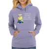 NEW MENS WOMENS KIDS MINIONS I TRIED TO BEHAVE I GOT DISTRACTED NOVELTY T SHIRT Womens Hoodie