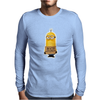 NEW MENS WOMENS KIDS MINIONS IM WITH STUPID JOKE FUNNY NOVELTY T SHIRT Mens Long Sleeve T-Shirt