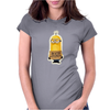NEW MENS WOMENS KIDS MINIONS IM WITH STUPID JOKE FUNNY NOVELTY T SHIRT Womens Fitted T-Shirt