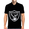 New Oakland California Football Raiders Mask Skulls Mens Polo