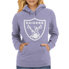 New Oakland California Football Raiders Mask Skulls Womens Hoodie