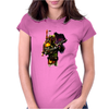 New Star Wars Boba Fett Water Womens Fitted T-Shirt