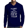 New Year 2016 Christmas Is Happiness Mens Hoodie