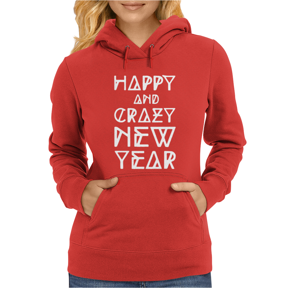 New Year 2016 Christmas Is Happiness Womens Hoodie