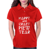 New Year 2016 Christmas Is Happiness Womens Polo