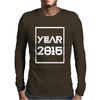 New Year 2016 Christmas Mens Long Sleeve T-Shirt