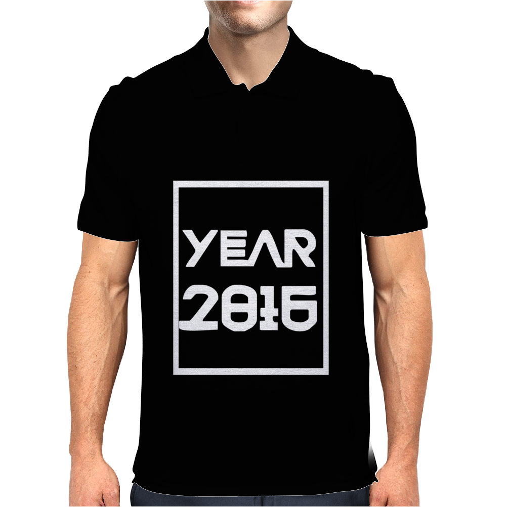 New Year 2016 Christmas Mens Polo