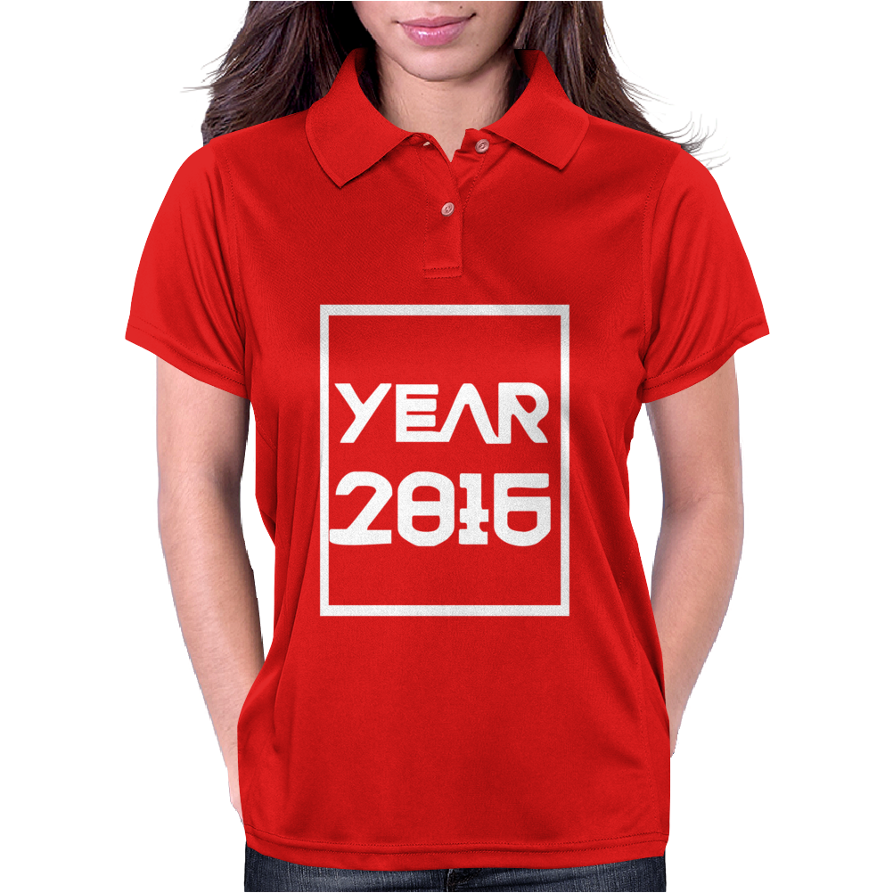 New Year 2016 Christmas Womens Polo