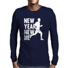 New Year, New Me Running Fitness Mens Long Sleeve T-Shirt
