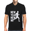 New Year, New Me Running Fitness Mens Polo
