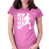 New Year, New Me Running Fitness Womens Fitted T-Shirt