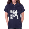 New Year, New Me Running Fitness Womens Polo