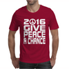 New Years Eve 2016 Give Peace A Chance Mens T-Shirt