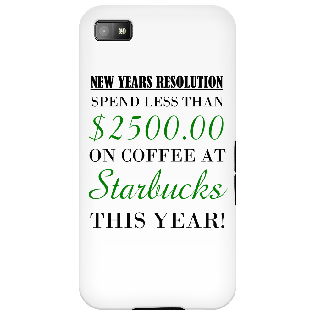 NEW YEARS RESOLUTION Phone Case