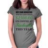 NEW YEARS RESOLUTION Womens Fitted T-Shirt