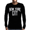 New York City Mens Long Sleeve T-Shirt