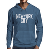 New York City Ringer Mens Hoodie