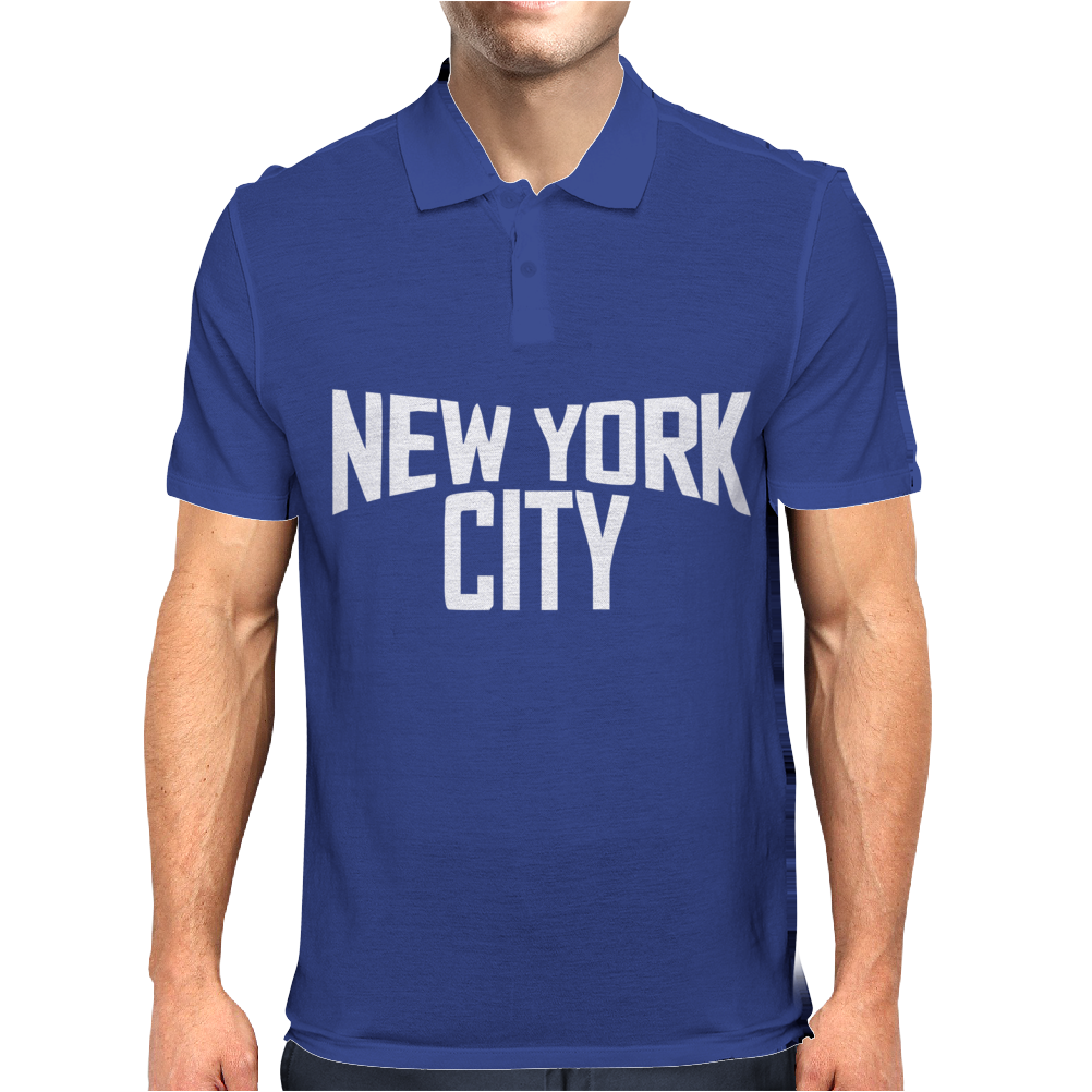 New York City Ringer Mens Polo