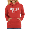 New York City Ringer Womens Hoodie