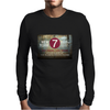new york city subway 7 train nyc stand clear of the closing doors please Mens Long Sleeve T-Shirt