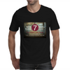 new york city subway 7 train nyc stand clear of the closing doors please Mens T-Shirt