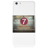 new york city subway 7 train nyc stand clear of the closing doors please Phone Case