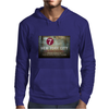 new york city subway 7 train stand clear of the closing doors please Mens Hoodie