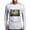new york city subway 7 train stand clear of the closing doors please Mens Long Sleeve T-Shirt