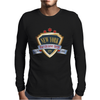 new york since 1664 that city never sleeps red stars Mens Long Sleeve T-Shirt