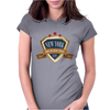 new york since 1664 that city never sleeps red stars retro Womens Fitted T-Shirt