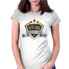 new york since 1664 that city never sleeps red stars Womens Fitted T-Shirt
