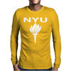 NEW YORK UNIVERSITY Mens Long Sleeve T-Shirt