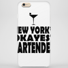 NEW YORK'S OKAYEST BARTENDER Phone Case