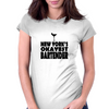 NEW YORK'S OKAYEST BARTENDER Womens Fitted T-Shirt