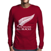 New Zealand All Blacks Rugby Mens Long Sleeve T-Shirt