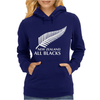 New Zealand All Blacks Rugby Womens Hoodie