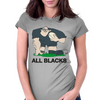 New Zealand Rugby Forward World Cup Womens Fitted T-Shirt