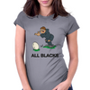 New Zealand Rugby Kicker World Cup Womens Fitted T-Shirt
