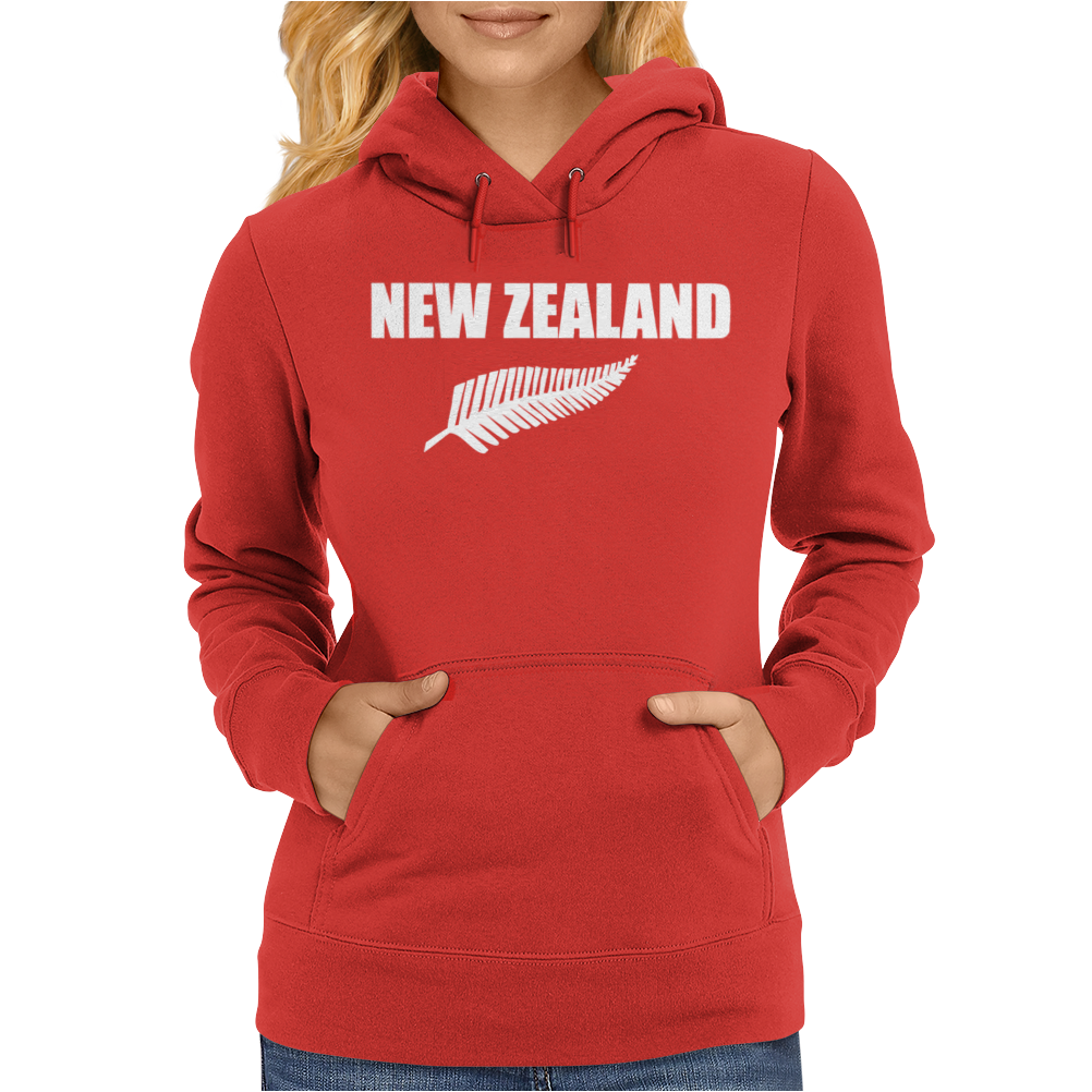 New Zealand Womens Hoodie